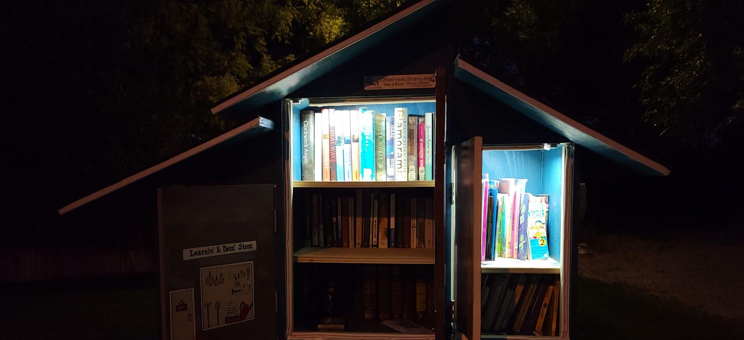 Li'l Winchesters' Li'l Library